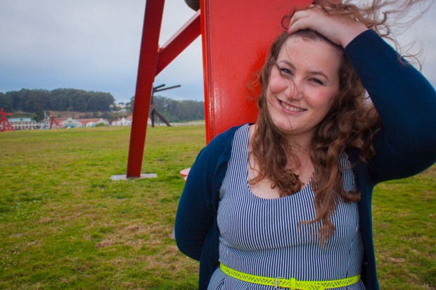 Crissy Field Striped Dress -13