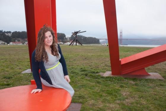 Crissy Field Striped Dress -17