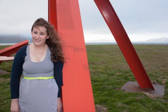 Crissy Field Striped Dress -2
